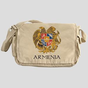 Armenian Coat of Arms Messenger Bag
