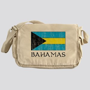 Bahamas Flag Messenger Bag