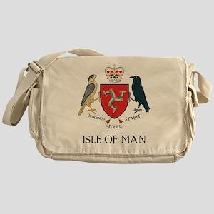 Isle of Man Coat of Arms Messenger Bag