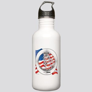 A Mustang Horse Stainless Water Bottle 1.0L