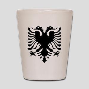 Albanian Eagle Shot Glass