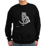 Mustang Plain Horse Sweatshirt (dark)