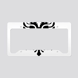 Albanian Eagle License Plate Holder