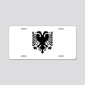 Albanian Eagle Aluminum License Plate