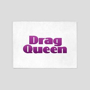 Drag Queen - Purple 5'x7'Area Rug