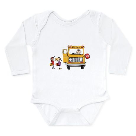 Back-to-School Long Sleeve Infant Bodysuit