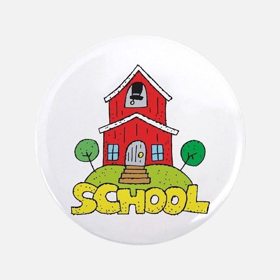 "School House 3.5"" Button"