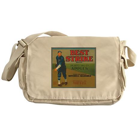 Best Strike Apples Labels Messenger Bag