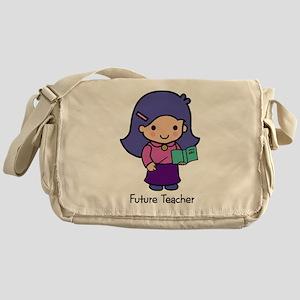 Future Teacher - girl Messenger Bag