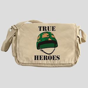 True Heros - the Marines Messenger Bag