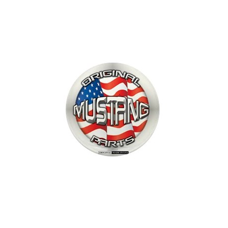 Mustang Original Mini Button (100 pack)