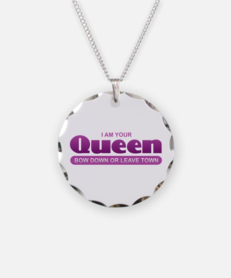 Queen - Bow Down Necklace