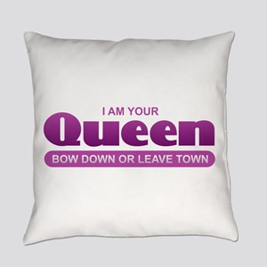 Queen - Bow Down Everyday Pillow