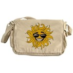 Smiley Face Sun Messenger Bag