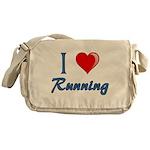 I Heart Running Messenger Bag