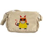 Evil Candy Corn Messenger Bag