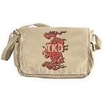 TKD Dragon Messenger Bag