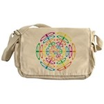 Peace Symbols Messenger Bag