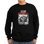 STOP ANIMAL TESTING - Sweatshirt (dark)