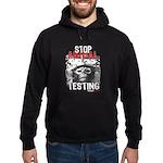 STOP ANIMAL TESTING - Hoodie (dark)