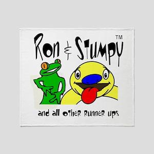 Ron & Stumpy Throw Blanket