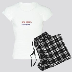 One Nation Indivisible Women's Light Pajamas