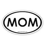 MOM Oval Sticker