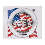 Mustang Classic 2012 Throw Blanket