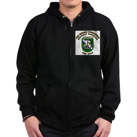 SOF - 3rd SOSC Zip Hoodie (dark)