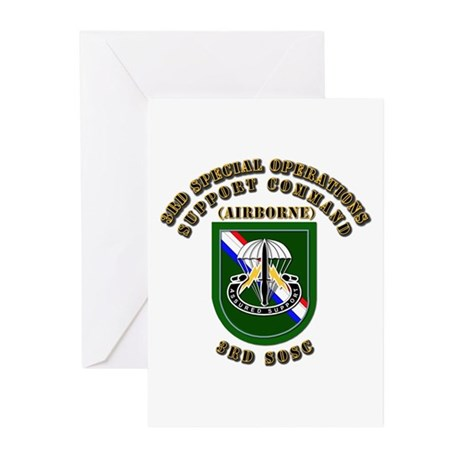 SOF - 3rd SOSC Greeting Cards (Pk of 20)