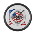 Challenger Classic Large Wall Clock