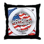 Challenger Classic Throw Pillow