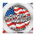 Challenger Classic Tile Coaster