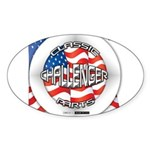 Challenger Classic Sticker (Oval 10 pk)