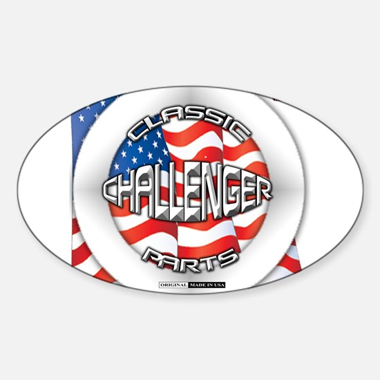 Challenger Classic Sticker (Oval)