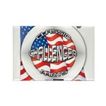 Challenger Classic Rectangle Magnet (100 pack)