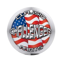 Challenger Classic Ornament (Round)