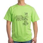 School Girl Green T-Shirt