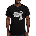 School Girl Men's Fitted T-Shirt (dark)