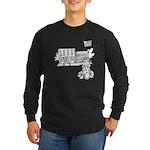 School Girl Long Sleeve Dark T-Shirt