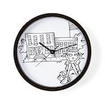 School Girl Wall Clock
