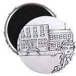School Girl Magnet