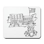 School Girl Mousepad