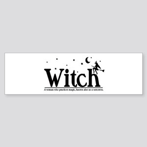 Witch Sticker (Bumper)
