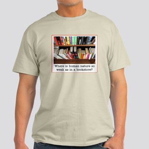 Book store quote Light T-Shirt