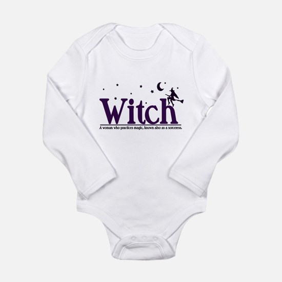 Witch Long Sleeve Infant Bodysuit