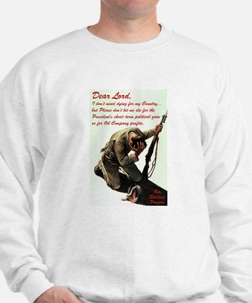 A Soldier's Prayer Sweatshirt