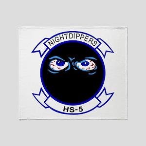 HS-5 Throw Blanket
