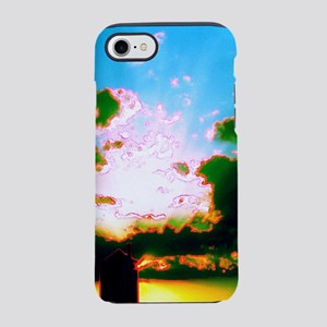 Peaceful Sunset Water Tower An iPhone 7 Tough Case
