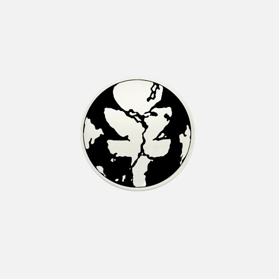 Black/White Discgaea Mini Button